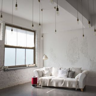 Off White Walls New Industrial Minimalist Loft Raw White Walls Wide Windows