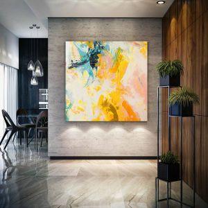 Oversized Wall Art Elegant original Paintings Handmade Paintings On Canvas Huge