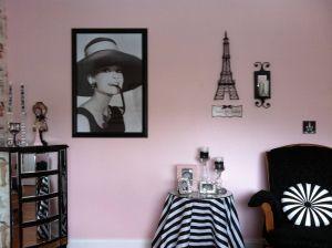 Paris themed Bedroom New My Audrey Hepburn Paris Room Inspiration Love the Poster