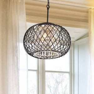 Round Iron Chandelier Beautiful Aichele 3 Light Chandelier Lobby 23 N Green