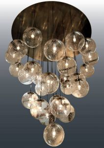Round Iron Chandelier Inspirational Extra Large and Impressive Raak Glass Balls Chandelier 29