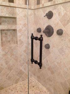 """Shower Door Alternative Luxury 8"""" Colonial Handle Shown In Oil Rubbed Bronze In 2019"""