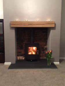 Slate Tile Fireplace Unique Wood Burning Fireplace Ideas Fireplace Tile