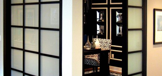Sliding Room Dividers Beautiful Wall Slide Doors with Laminated Glass & Black Frame