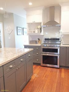 Stainless Steel Backsplash Beautiful Best White Kitchen Cabinets with Stainless Steel