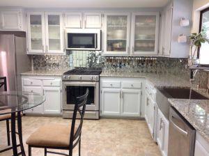 Stainless Steel Backsplash Inspirational the Kitchen after Remodel Premium Vinyl Floors Glass