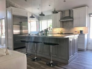 Stainless Steel Backsplash Inspirational Whites Greys Marble and Stainless Steel are the Basis Of