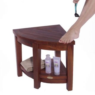 Teak Shower Bench Beautiful Decoteak Classic Teak Corner Shower Stool Dt104