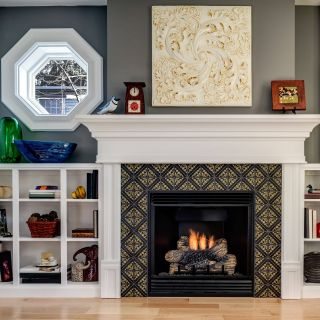 Tile Fireplace Surround Best Of This Small but Stylish Fireplace Features Our Lisbon Tile