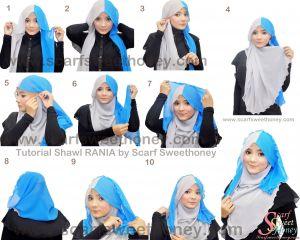 Tutorial Jilbab Pashmina Instan Awesome Pin On Hijab ♥♥♥