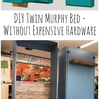 Twin Murphy Bed Elegant Diy Twin Murphy Beds without Expensive Hardware