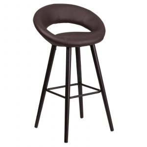 Unique Counter Stools Luxury Flash Furniture Kelsey 30 In Contemporary Rounded Keyhole