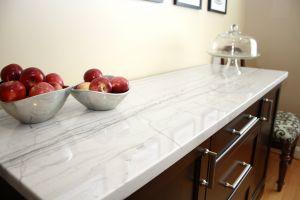 White Macaubas Quartzite Luxury Decor & Accessories Best Way to Design Simple Countertop
