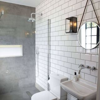 White Tile Bathroom Fresh Lovely Outdoor toilet Home and Garden