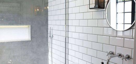 White Tile Bathroom Fresh Lovely Outdoor toilet Home and Garden