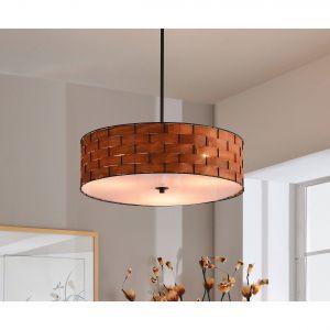 Woven Pendant Light Unique Pendants Chandeliers Kitchen