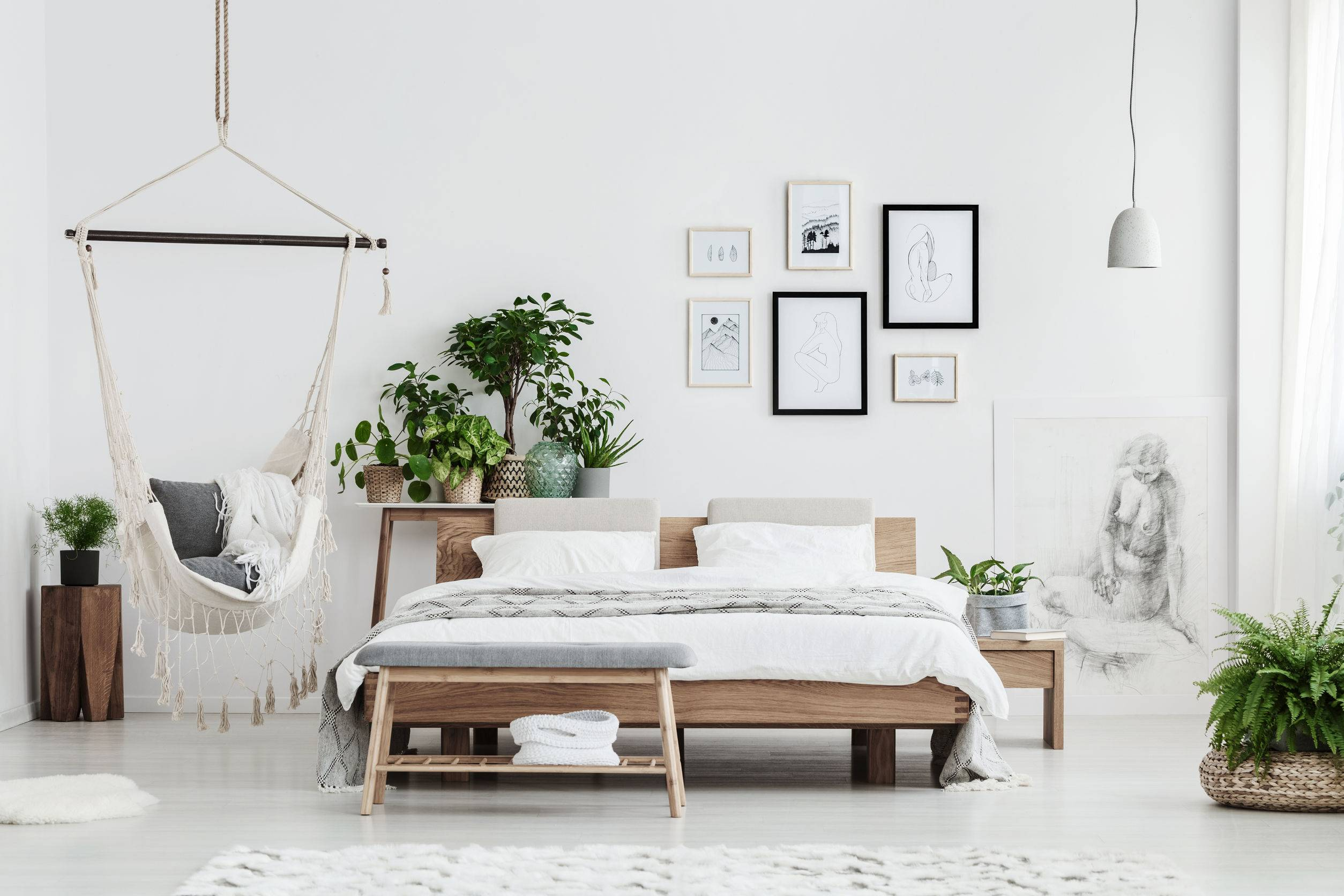 bedroom natural