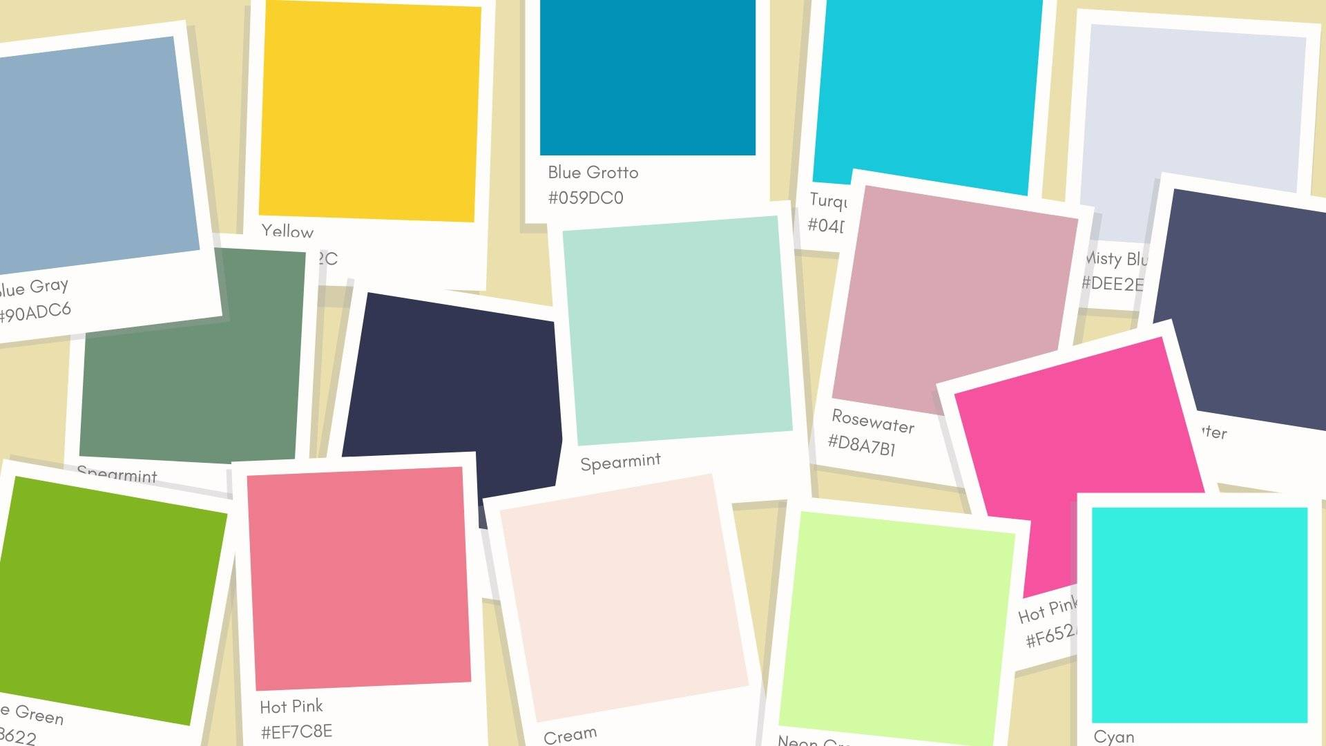 Choosing your brand kit color palette
