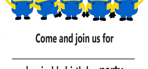Best Of Minion Party Ideas Awesome Minion Invitation Printable Templates