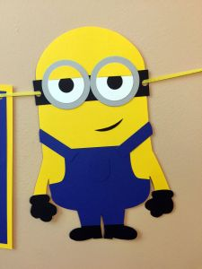 Best Of Minion Party Ideas Elegant Minion Name Sign On Etsy