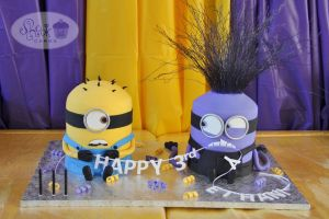 Best Of Minion Party Ideas Fresh Despicable Me 2 Birthday Cake Yellow and Purple Minion Cake