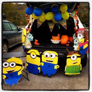 Best Of Minion Party Ideas New I Recycled Our Minion Party Decorations for Trunk or Treat