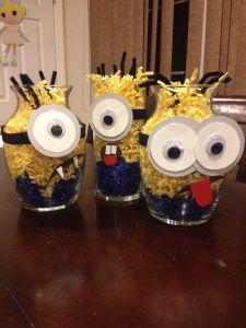 Best Of Minion Party Ideas New Minion Birthday Party Minion Centerpieces
