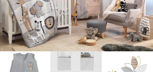 Best Of Safari themed Nursery Ideas Beautiful Jungle Safari Gray Tan White Nursery 6 Piece Baby Crib