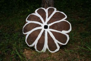 Blade Of Grass Fresh Flower Made From An Old Disc Harrow Blade I Found Using