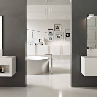 Contemporary Bathroom Vanity Beautiful Modern White Bathroom Vanities Design