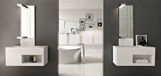 Contemporary Bathroom Vanity Beautiful Modern White Bathroom Vanities Design