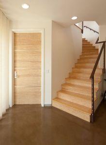Contemporary Interior Doors Lovely Bamboo Door & Bamboo Stairs