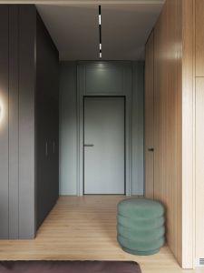 Contemporary Interior Doors Unique Interior Design Using Moody Colours and Natural Materials