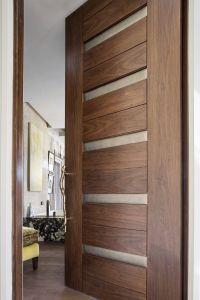 Contemporary Interior Doors Unique Trustile Modern Door Collection Tm In Walnut with