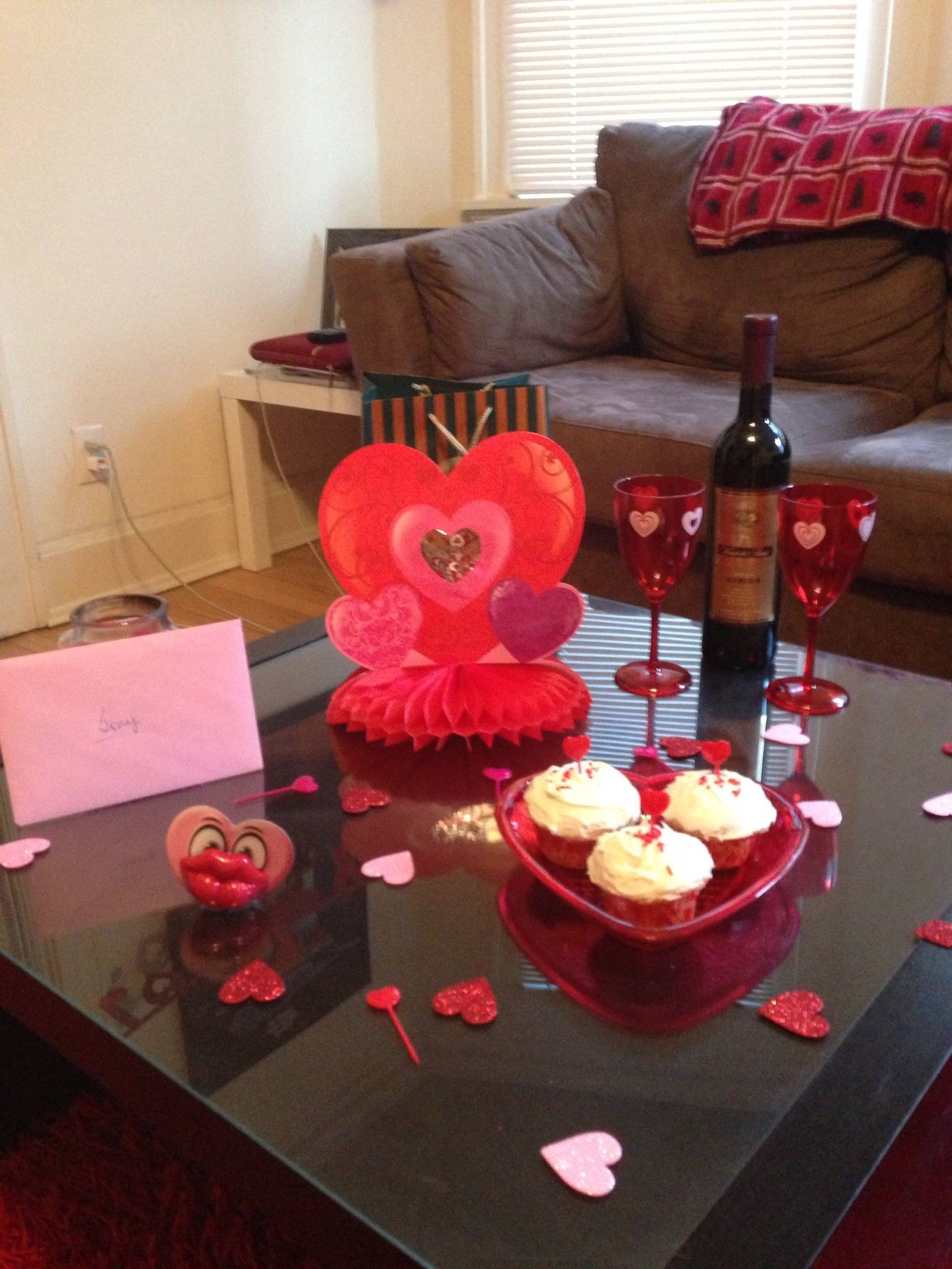 The Majestic Vision Valentines Day Decorations for Coffee Table