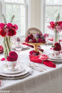 Dining Room Valentine Day Decoration Elegant Valentines Day Decor Envisionmotor Pany