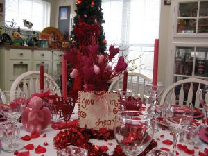 Dining Room Valentine Day Decoration Unique Lovely Valentines Table Decoration Ideas with Beautiful Love