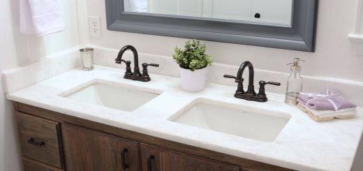 Diy Bathroom Vanity Elegant before & after How to Build A Diy Bathroom Vanity From