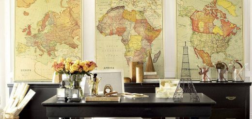 Exceptional Home Office Wall Decor Luxury Maps as Wall Decor Working From Home