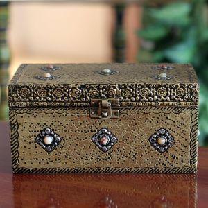 Exceptional Jewelry Box Decorating Ideas Fresh Handmade Brass Mughal Treasure Chest Classic Jewelry Box