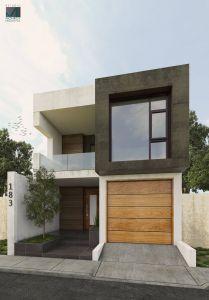 Fantastic Fachadas De Casas Modernas Fresh Projeto Remodelaci³n Fachada Contemporánea Estudio Monroy