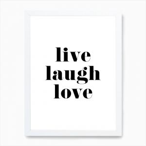 Fantastic Live Laugh Love Decor Inspirational Live Laugh Love Art Print