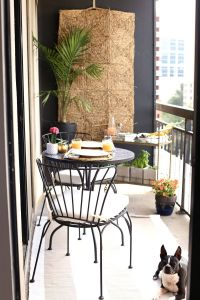 Fantastic Small Balcony Ideas New High Rise Patio Ideas