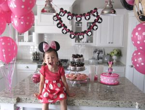 Fresh Design Birthday for Girls Beautiful Minnie Mouse theme Party