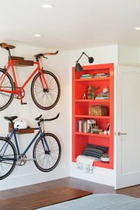 Fresh Design Build Your Own Bike Rack Awesome Transitional Bedroom with Bike Storage Home
