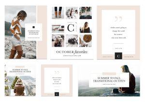 Fresh Design Photo Collage Ideas Lovely Fashion Blogger social Media Kit Mood Board Collage Post