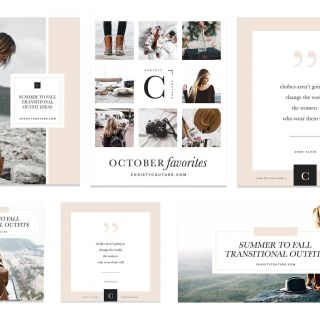 Fresh Design Photo Collage Ideas Lovely Fashion Blogger social Media Kit Mood Board Collage Post