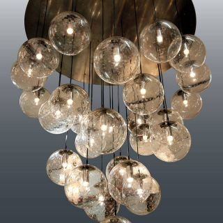 High End Chandeliers New Extra Large and Impressive Raak Glass Balls Chandelier 29