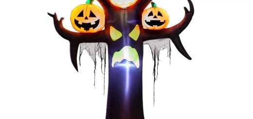 Incredible Inflatable Cat Halloween Decorations New Yihong 10 Ft Halloween Inflatables Dead Tree with Pumpkins Decorations Blow Up Party Decor for Indoor Outdoor Yard with Led Lights