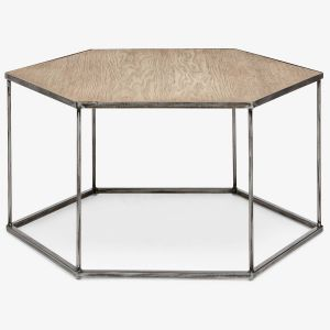 Industrial Cocktail Table Beautiful This Geometric Coffee Table Blends Industrial Elements with